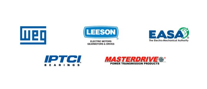 Partner brand logos